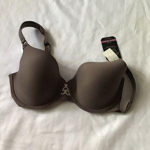 OLGA To A Tee Bra 35145 Size 34D Brown MSRP 38.00